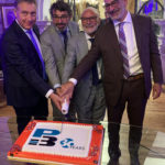 P3 evento 30 anni torta Glass Cathedral